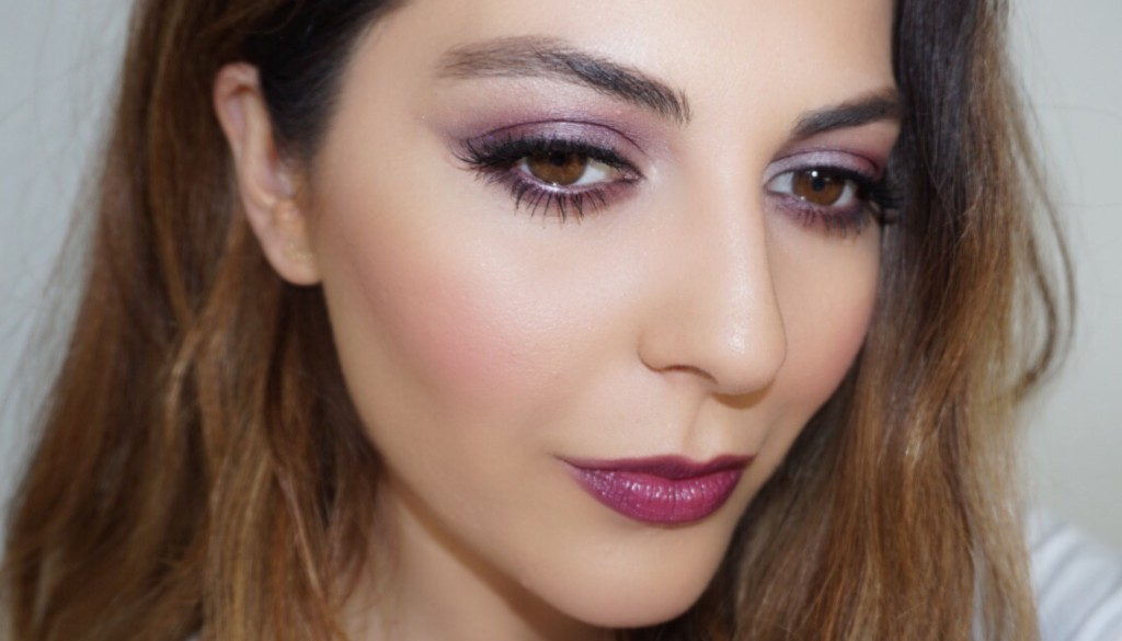 fall plum makeup tutorial
