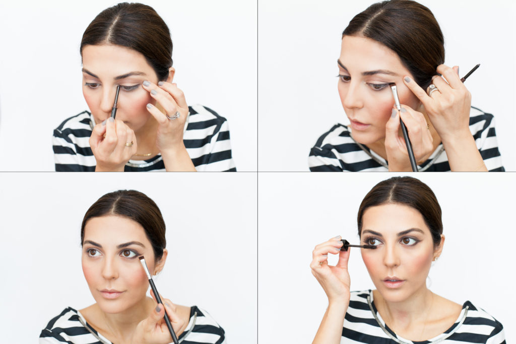 eye makeup tutorial for work and office