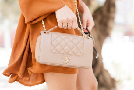 chanel classic bag beige nude
