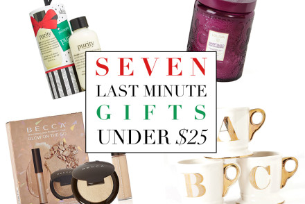 seven last minute gifts under $25