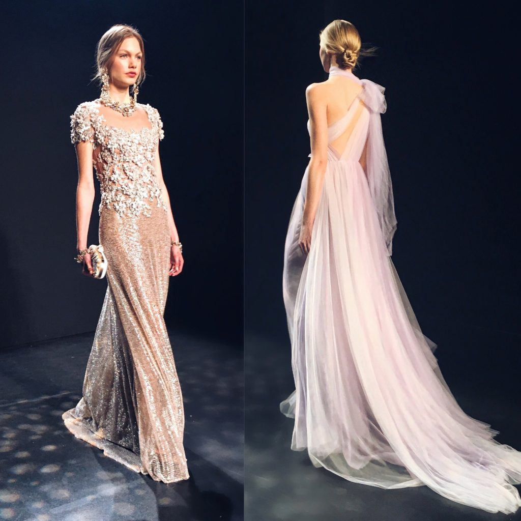 Simply Sona attends Marchesa NYFW