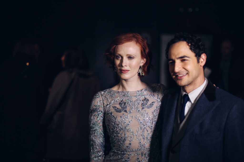 Karen Olsen and Zach Posen at the Marchesa NYFW 2016