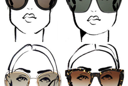 perfect sunglasses for every face shape