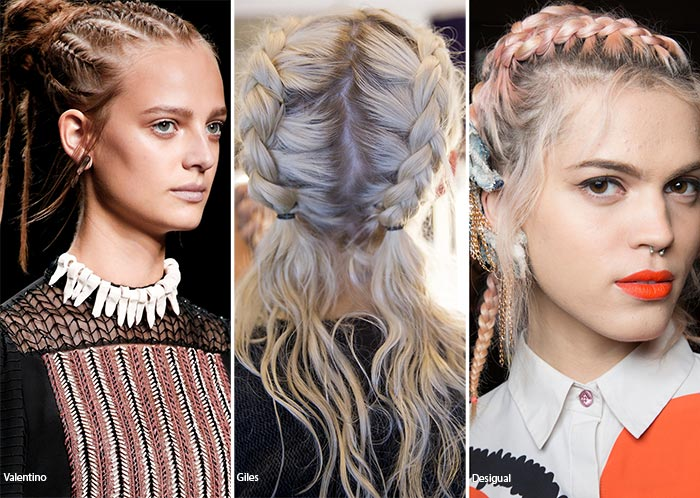 festival spring hairstyles with braids