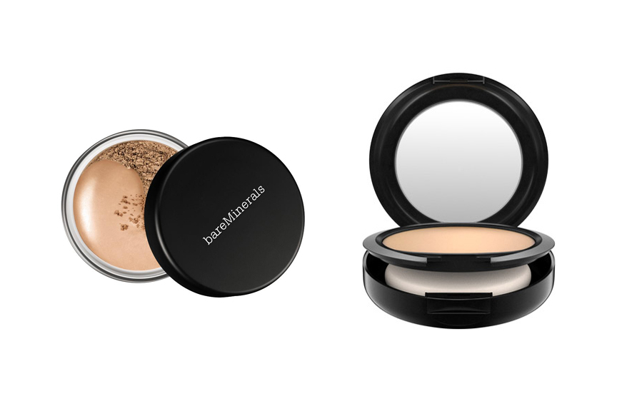 MAC Mineralize Skinfinish Natural vs MAC Studio Fix Powder ...