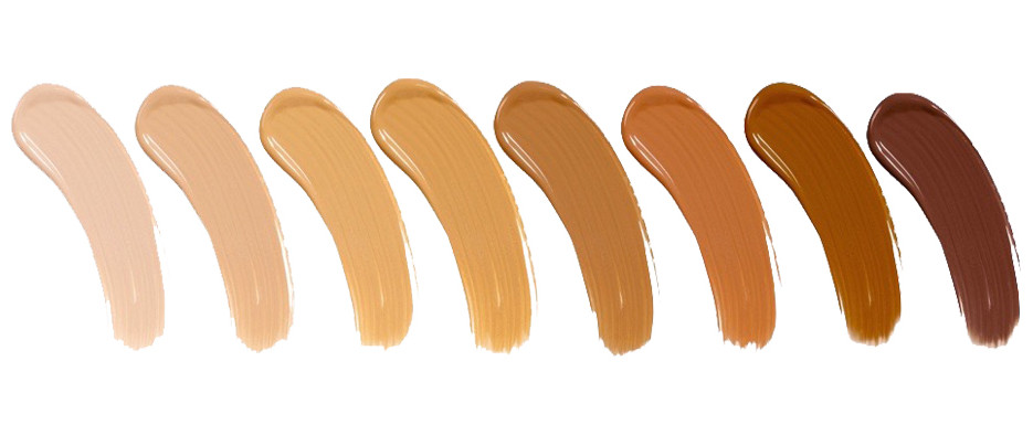 Swatches of Favorite Foundations