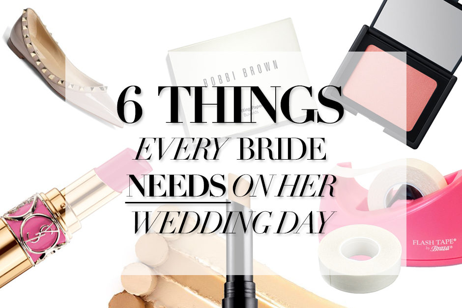 Wedding Day Survival Kit tips.