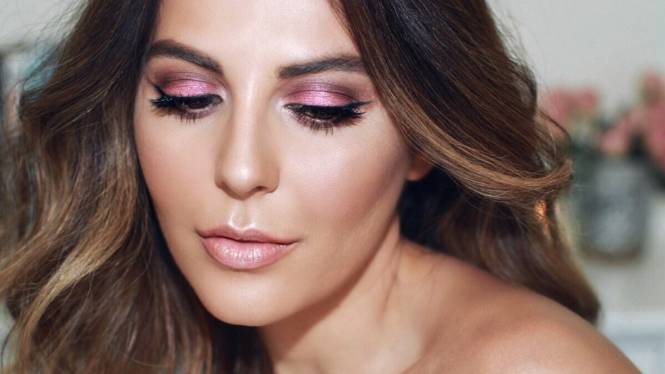 Simply Sona creates a Summery Pink Makeup Tutorial showcasing new summer beauty products.
