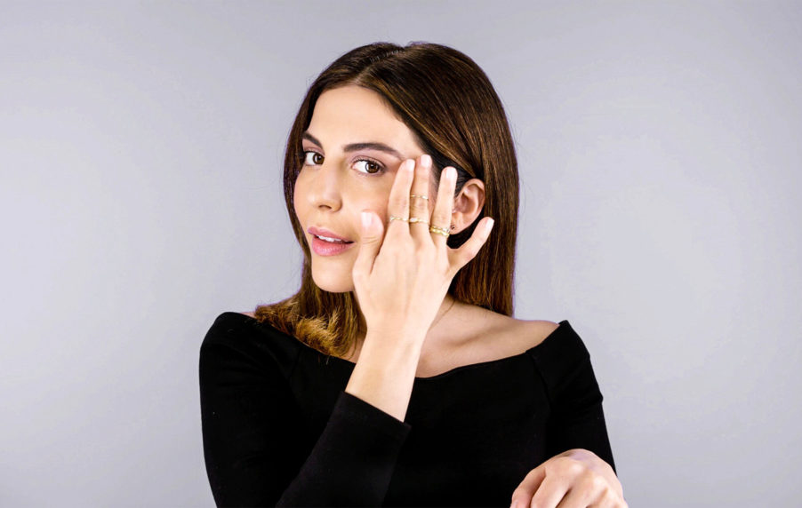 sona gasparian shows off the latest beauty trends