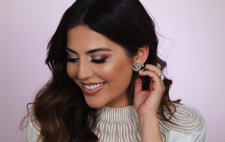 sona gasparian's bridal makeup tutorial