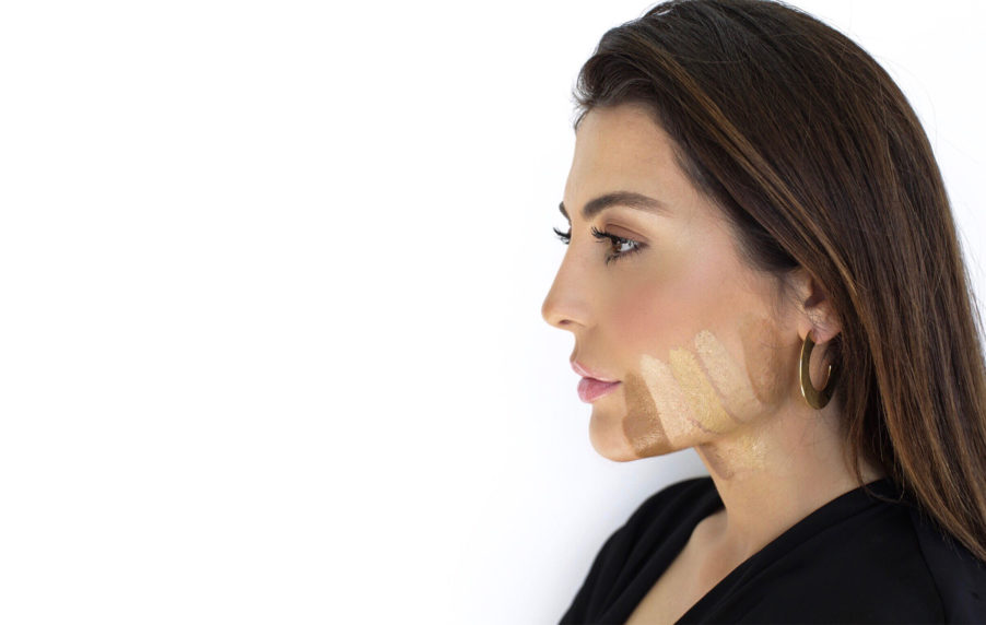 Sona Gasparian show how to find your best foundation match for your skin tone.
