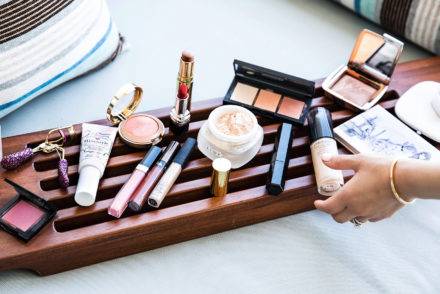 sona gasparian's travel makeup collection for cabo
