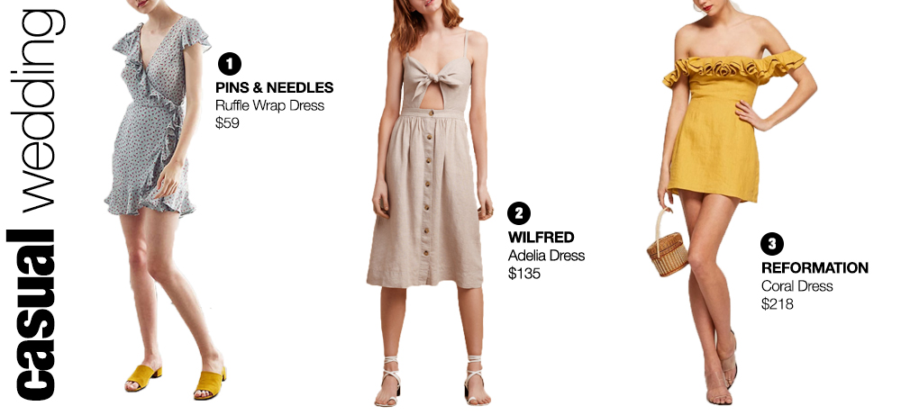 Wedding Guest Dress For Weddings With A Casual Dress Code