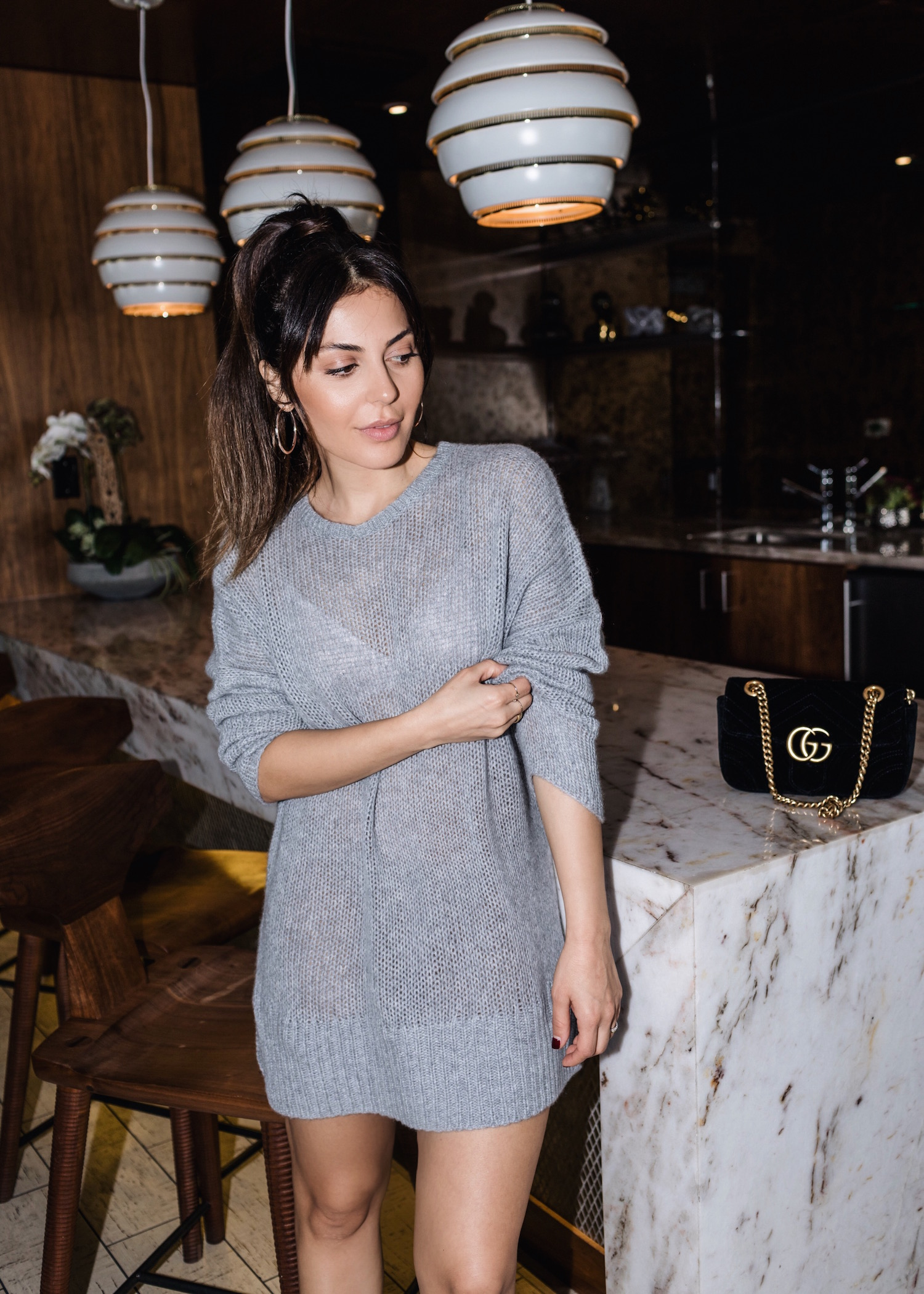 How to wear chunky sweaters for fall