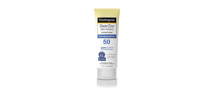 Neutrogena Sheer Zinc Sunscreen