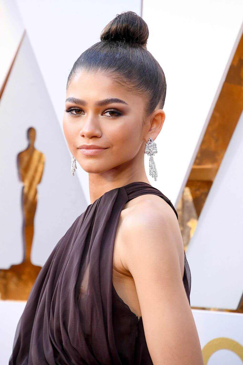 Oscars Beauty Zendaya
