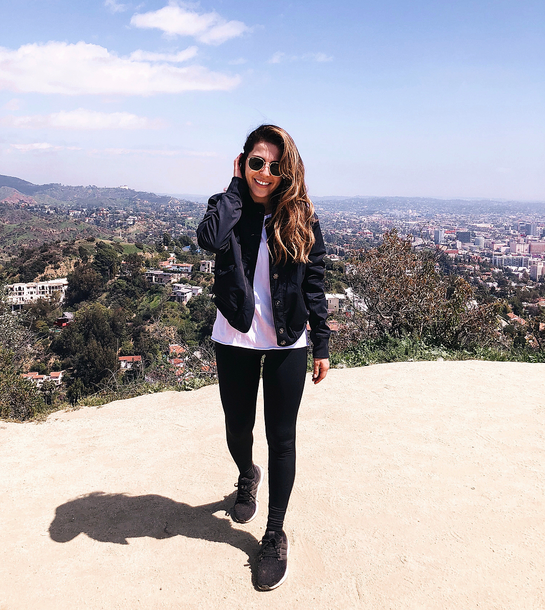 Hiking outfit LA