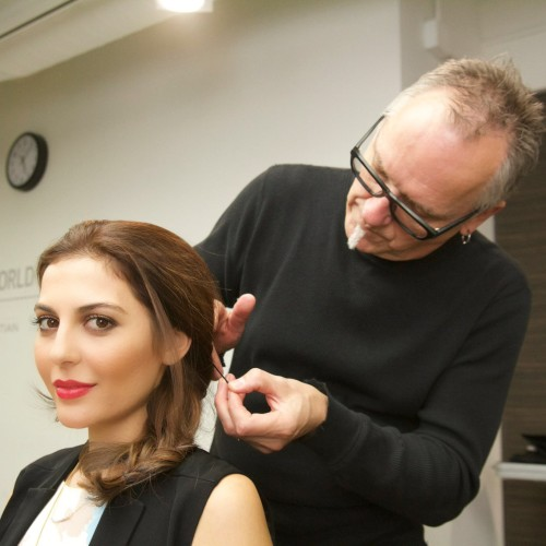 Makeover With Wella & ELLE Magazine