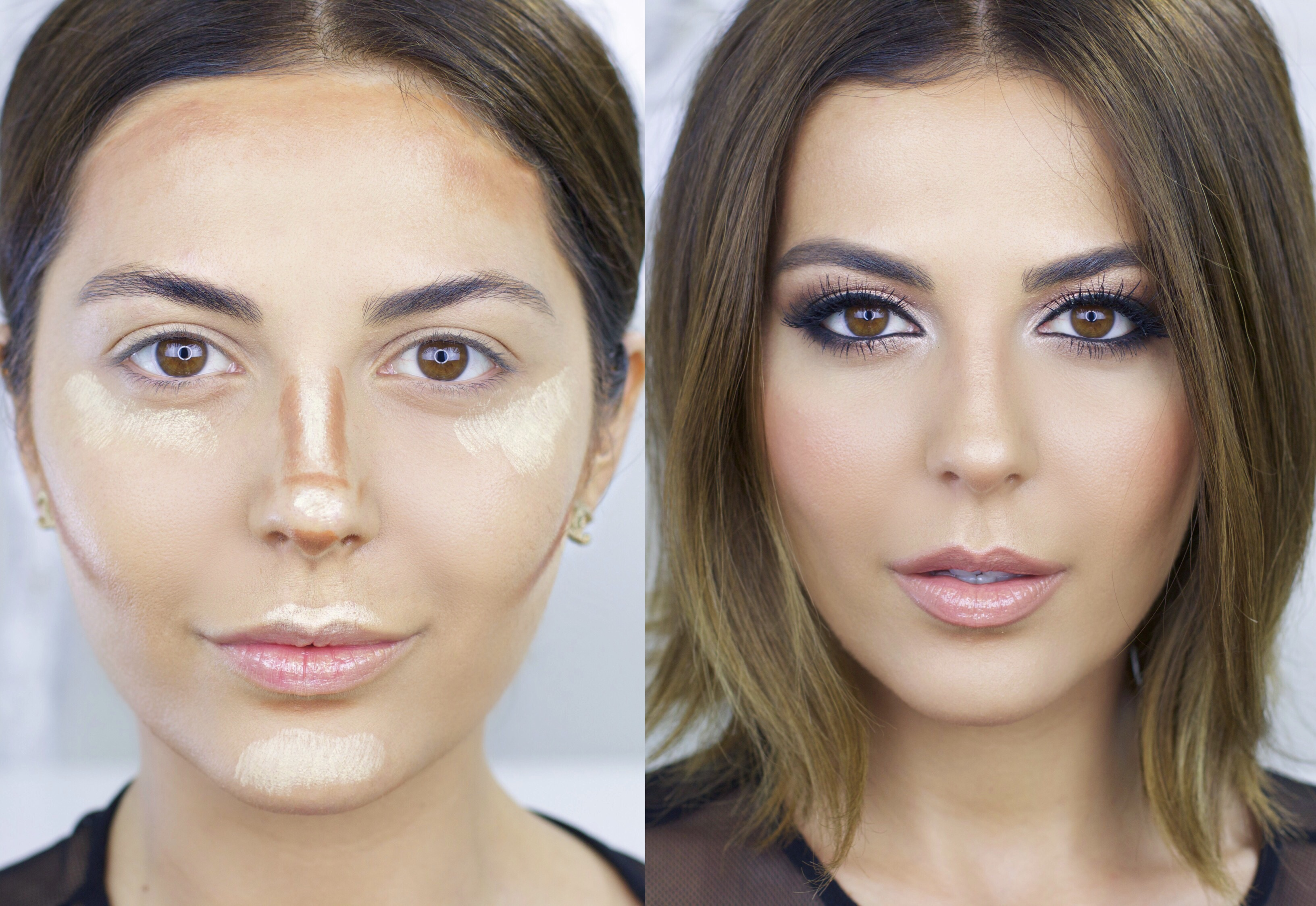 Kim Kardashian Makeup Tutorial - Simply Sona