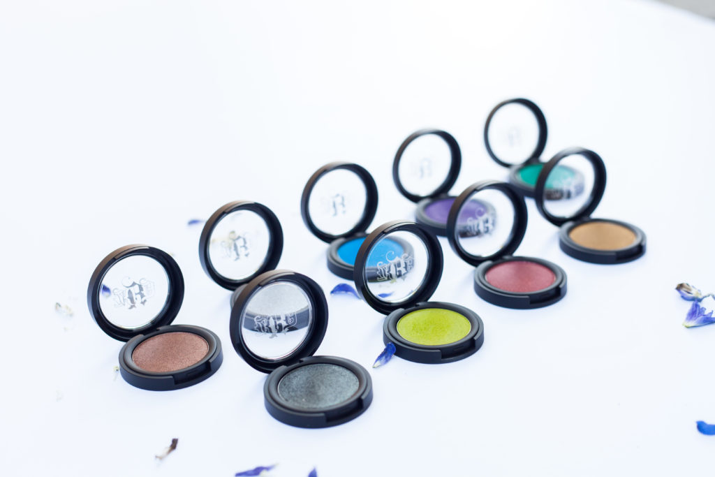 metal crusher eyeshadows kat von d