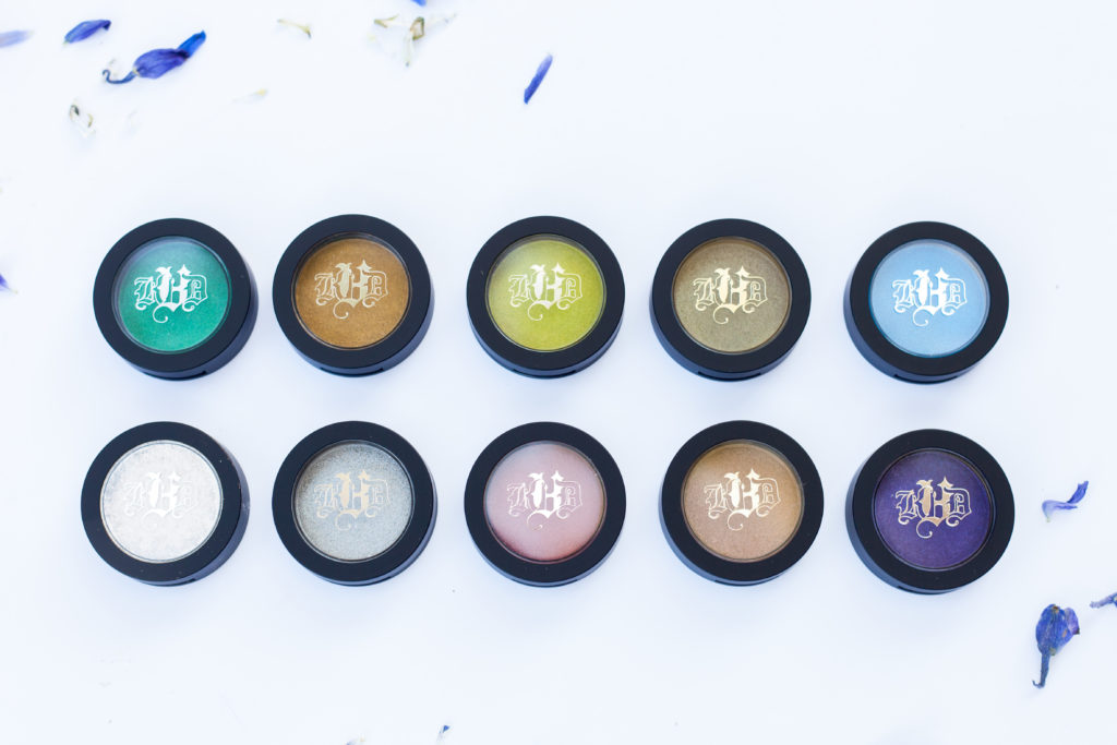 eyeshadows pods kat von d metallic