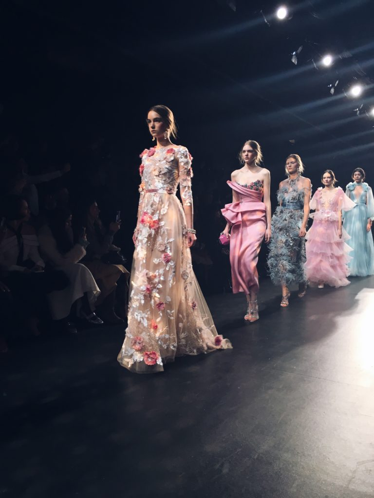 Simply Sona attends Marchesa runway show 2016
