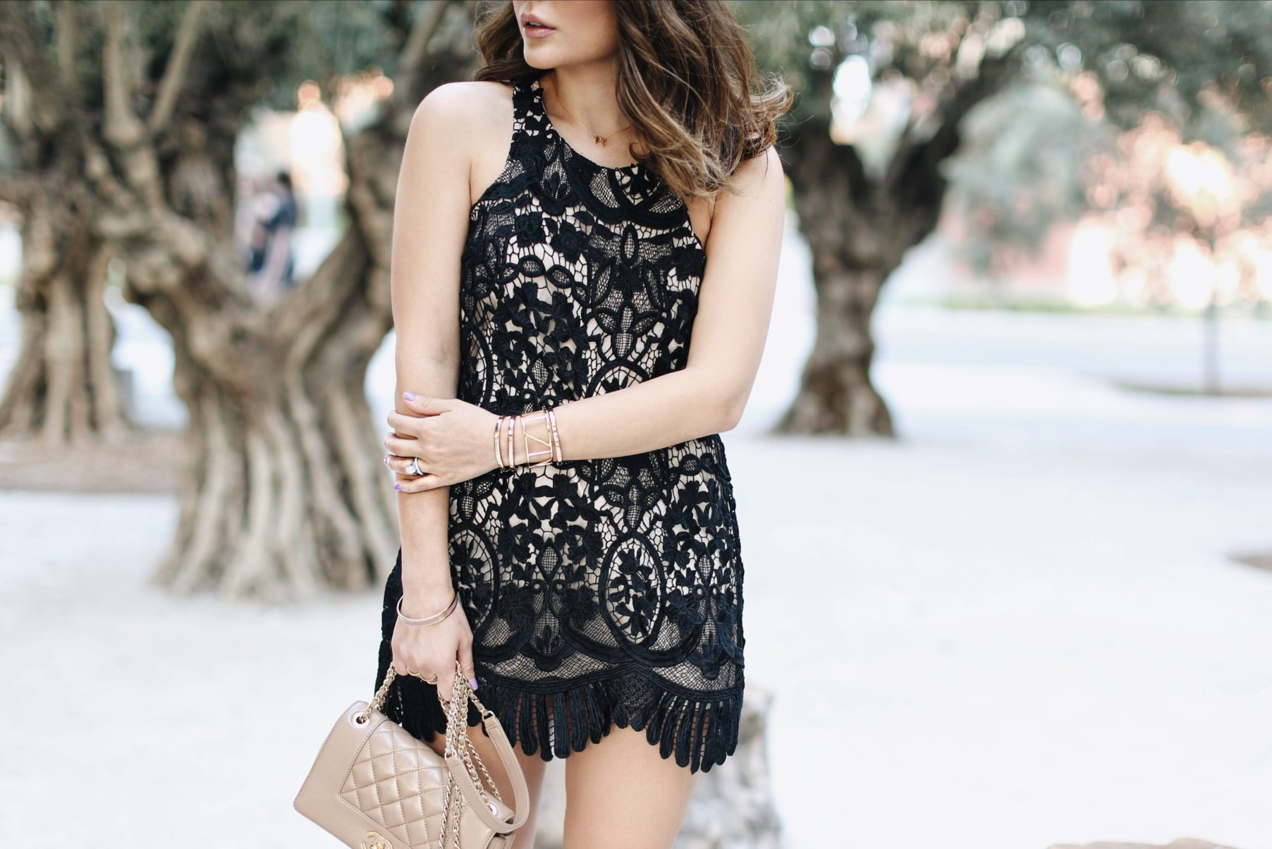 lovers and friends lace dress revolve