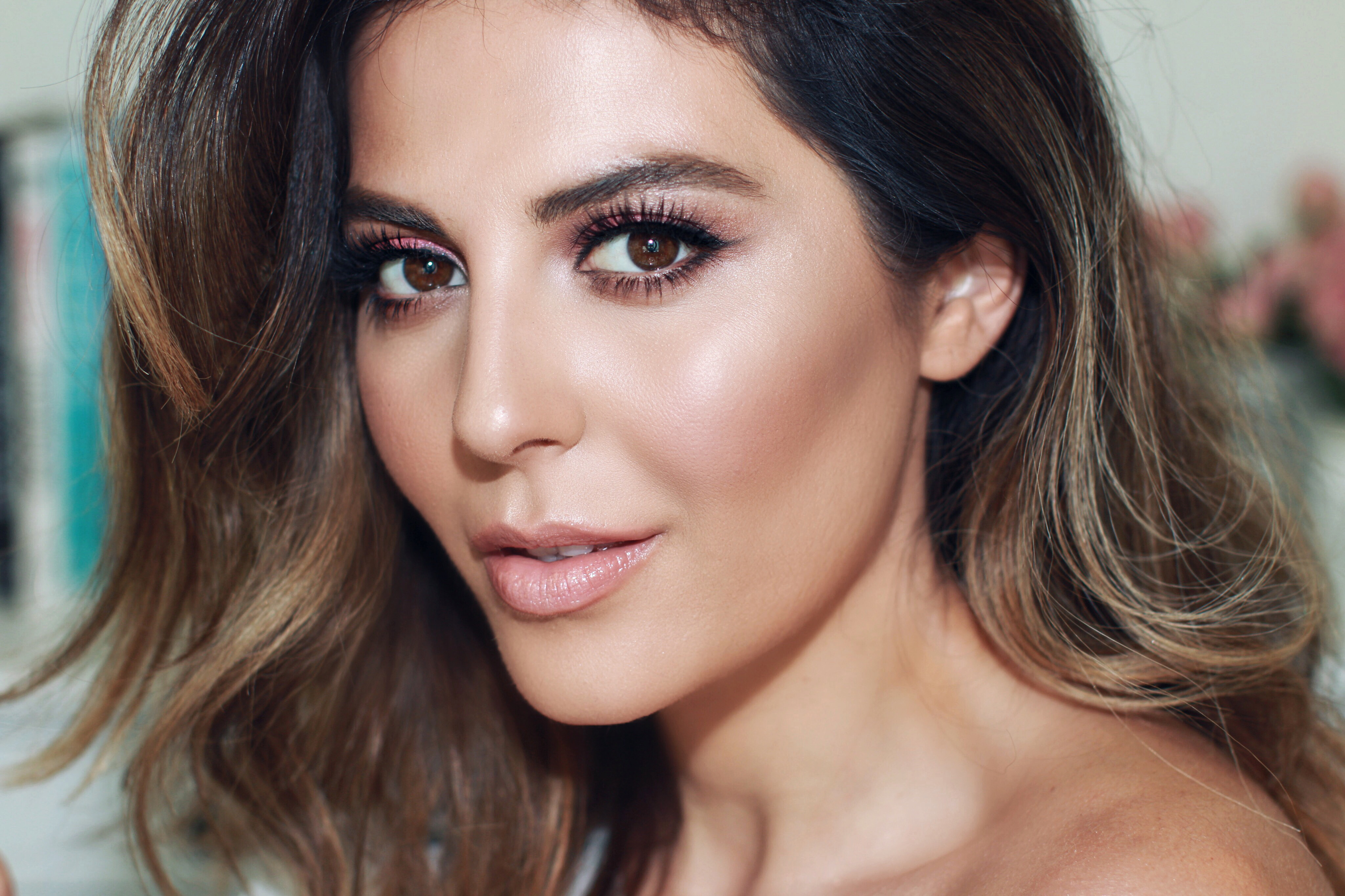 sona gasparian summer makeup look