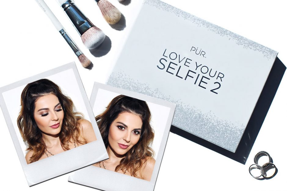 Simply Sona creates a looking using Pur Cosmetics new Love Your Selfie 2 Palette.