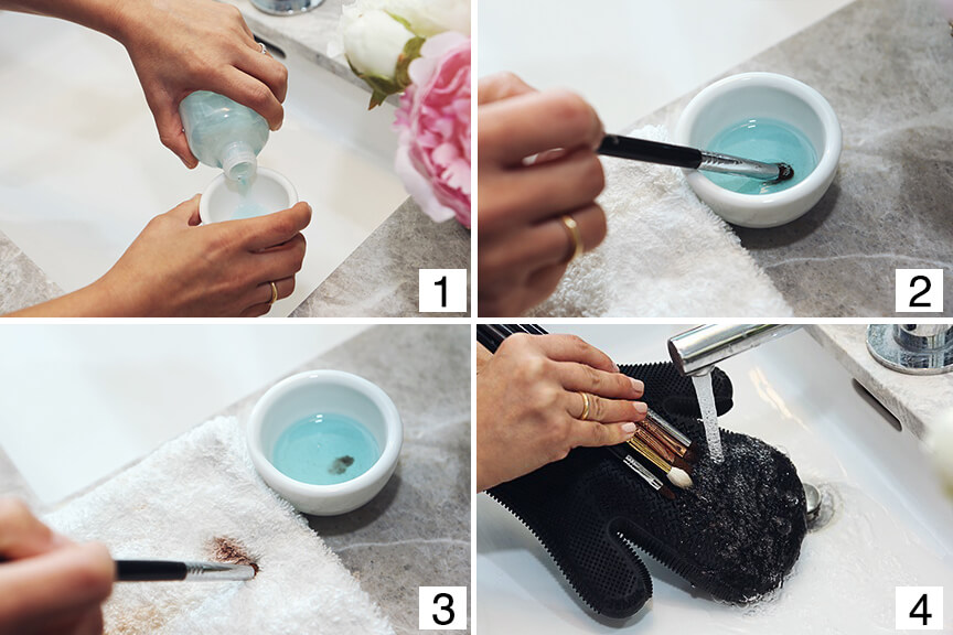 Cleaning Makeup brushes is something that should be done regularly to ensure a flawless makeup application.