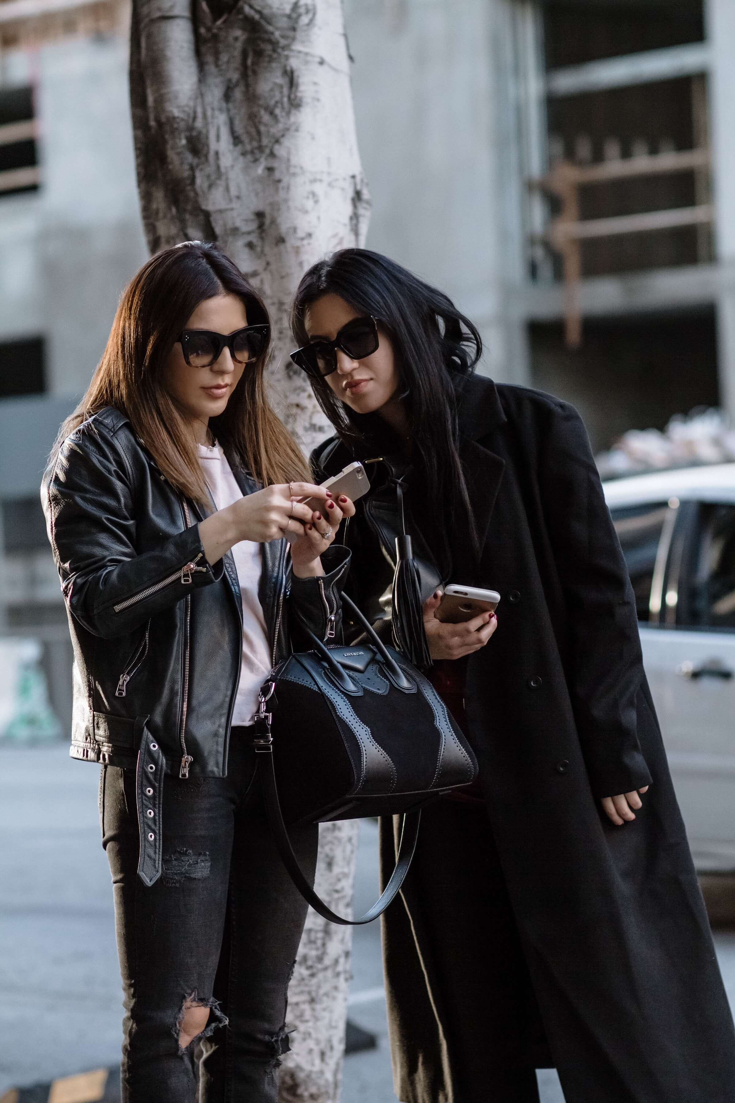 stylish coffee date with sona gasparian and tania sarin
