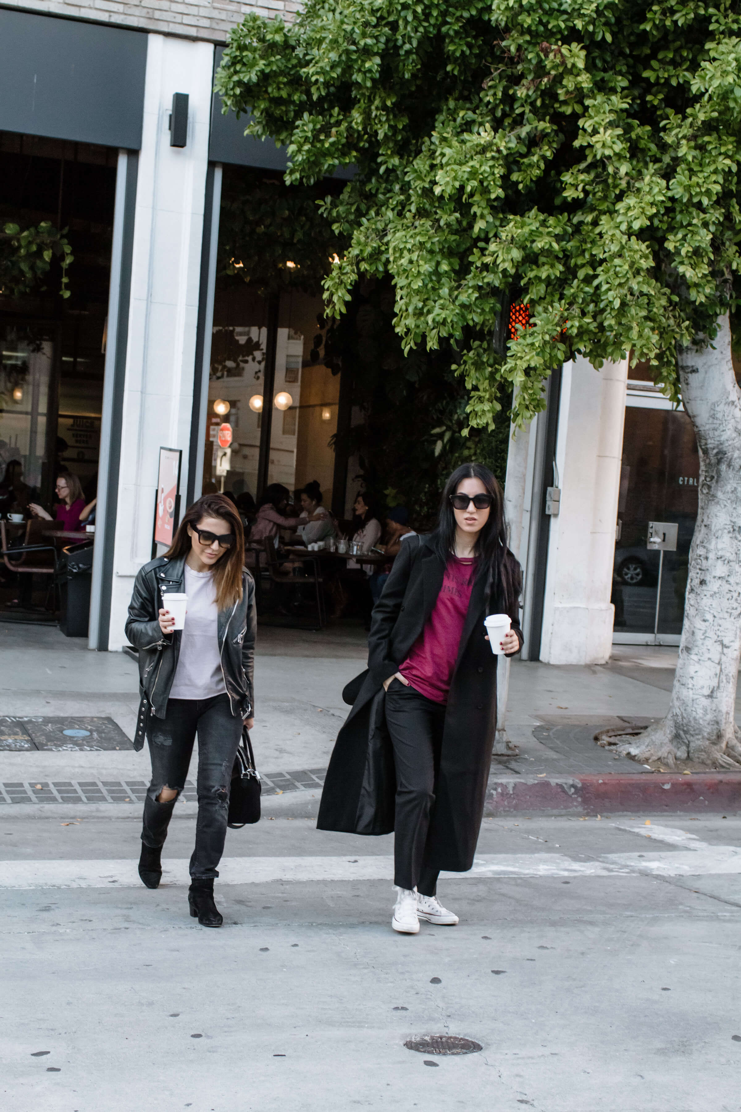 stylish coffee date with fashion and beauty bloggers sona gasparian and tania sarin