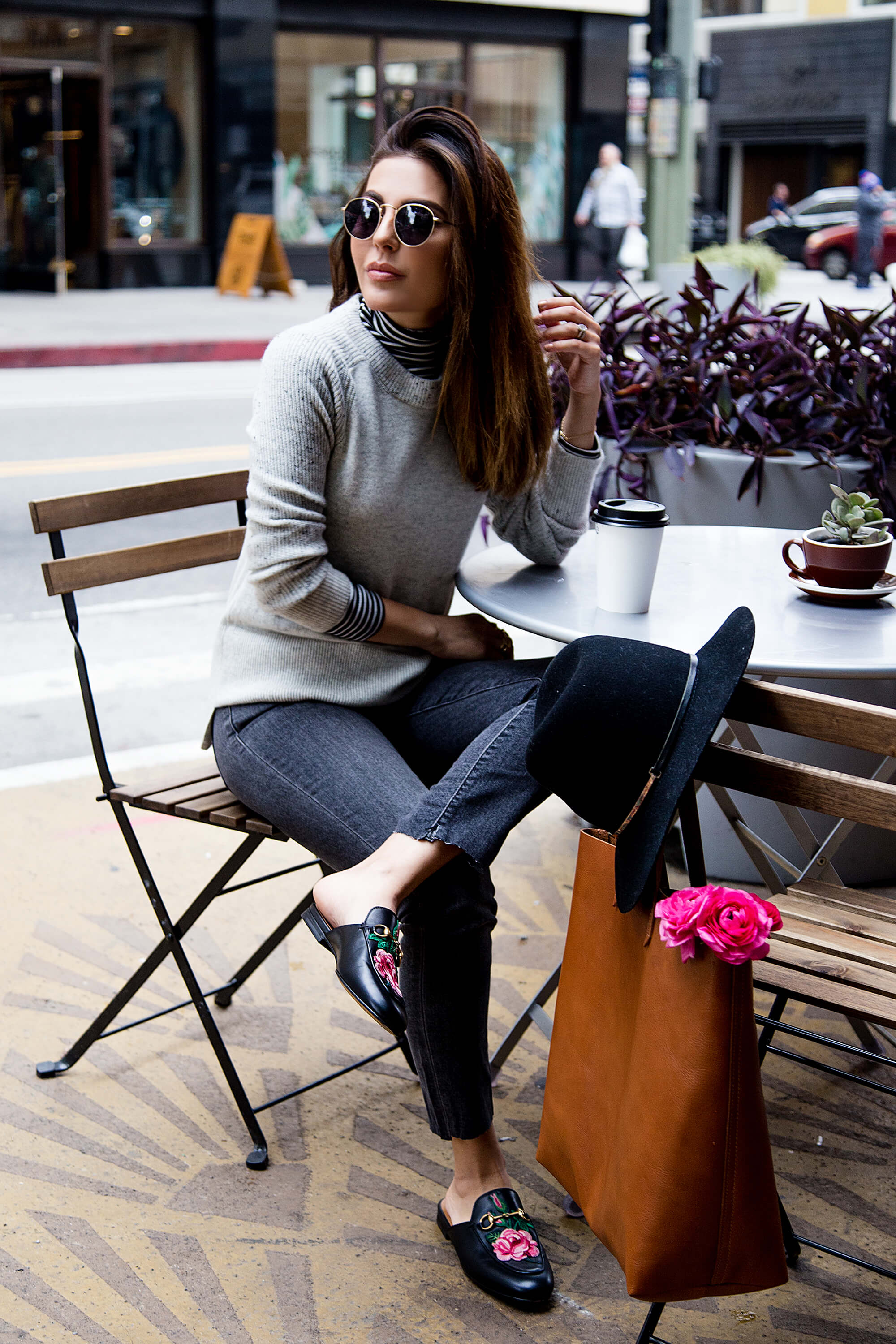 sona gasparian's tips for how to elevate a casual outfit to the next level