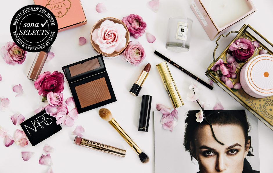 the best of spring beauty, march edition of sona selects