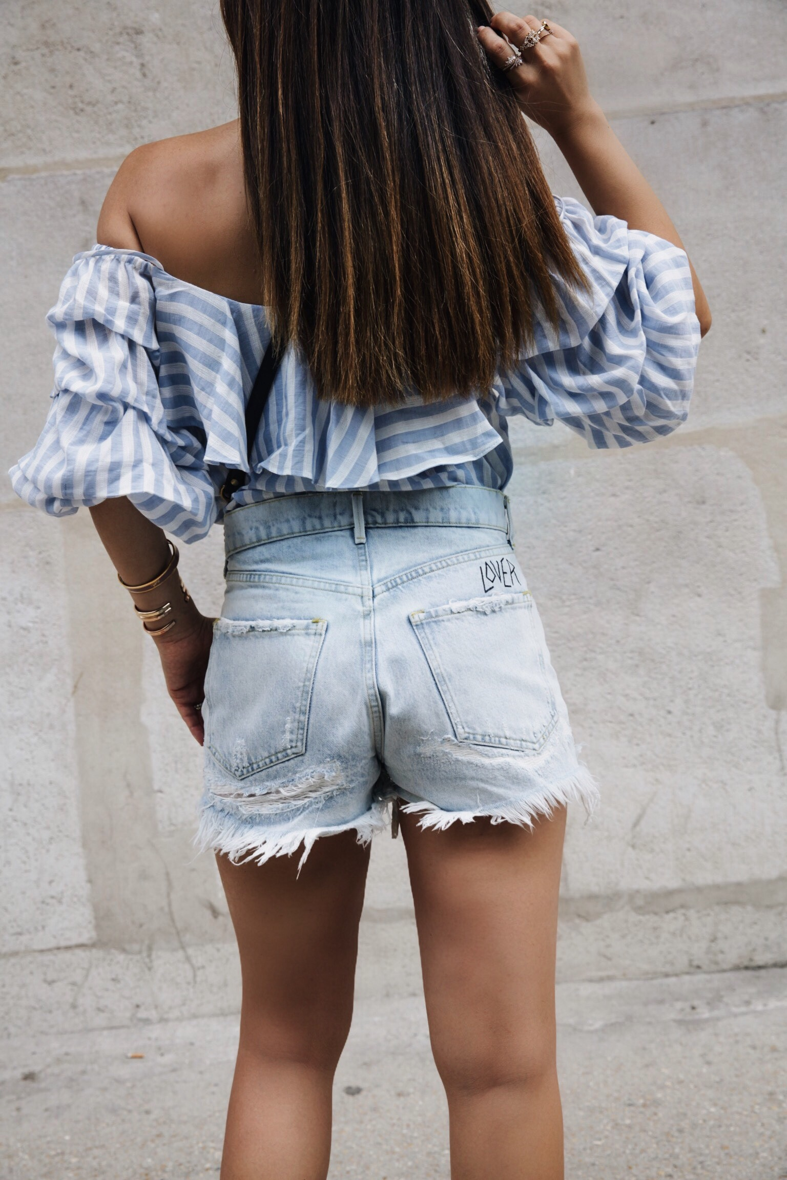 vintage denim shorts