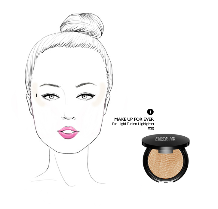 how to highlight a square shaped face