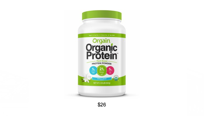 Amazon Grocery List- Vegan Protein Powder